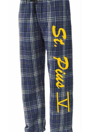 St. Pius Flannel Pants Option 1