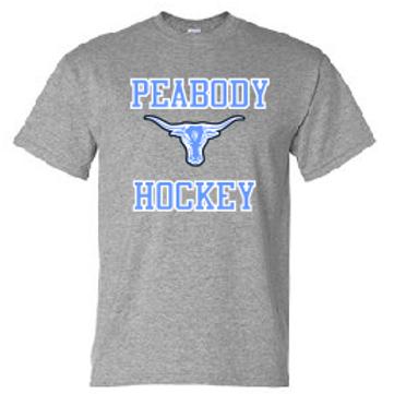 Peabody Hockey Grey Dri Fit