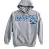 Hunking Grey Super 10 Hoodie Option 1