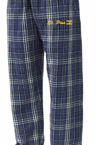 St. Pius Flannel Pants Option 2