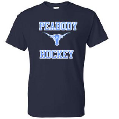 Peabody Hockey Navy Dri Fit