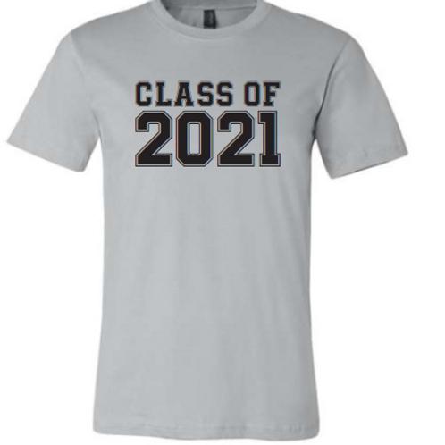 8th Class of 21 Silver Shirt