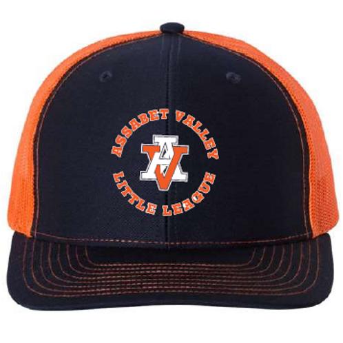AVLL Navy/Orange Hat