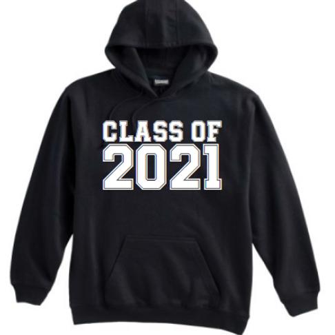 8th Class of 21 Black Hoodie