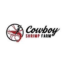 cowboy shrimp farm logo