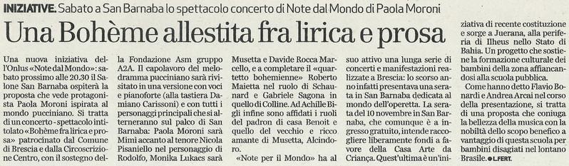 8 novembre 2012 Bresciaoggi