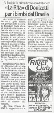 6 maggio 2006 Giornale di Brescia