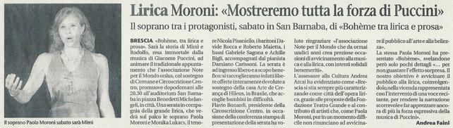 8 novembre 2012 Giornale di Brescia