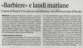 25 ottobre 2008 Giornale di Brescia