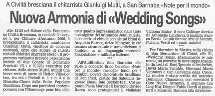 2 dicembre 2006 Giornale di Brescia