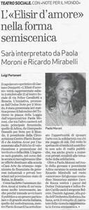 1 otobre 2009 Bresciaoggi