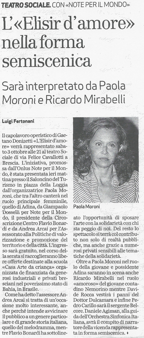 1 otobre 2009 Bresciaoggi.jpg
