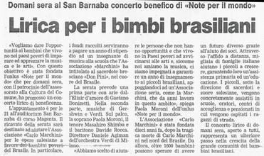 17 novembre 2001 Bresciaoggi
