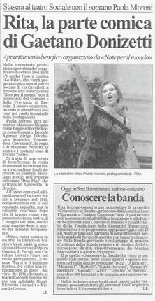 6 maggio 2006 Bresciaoggi