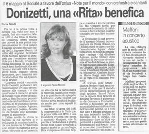 21 aprile 2006 Giornale di Brescia