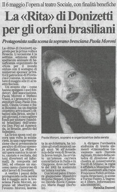 21 aprile 2006 Bresciaoggi