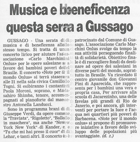 13 dicembre 2001 Bresciaoggi