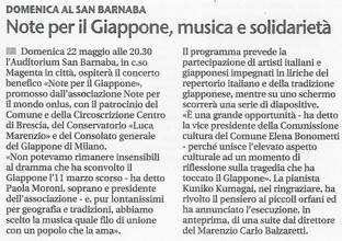 20 maggio 2011 Giornale di Brescia