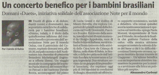 25 ottobre 2013 Giornale di Brescia