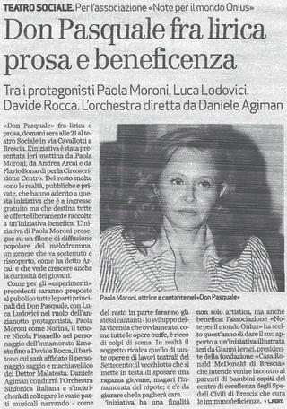 1 ottobre 2010 Bresciaoggi