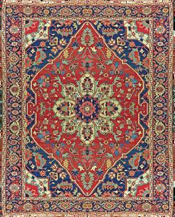 Fine Persian Serapi, Ca. 1900