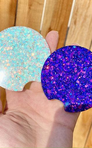 Glitter Car Coasters