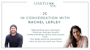 Limitless You: JC on Re:Wild with JC, physical and gut health, where you food comes from.