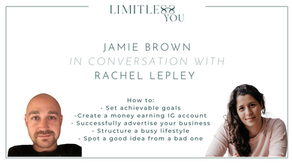 Jamie Lee Brown on setting goals, dealing with pressure and running a successful side hustle.