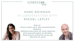 Mark Weinman on growing a startup, embracing rejection and becoming an actor.