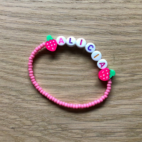 Customize your kids' bracelet