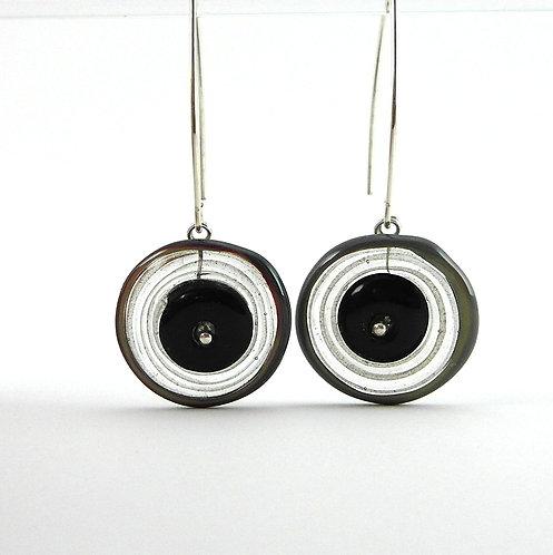 galss earrings