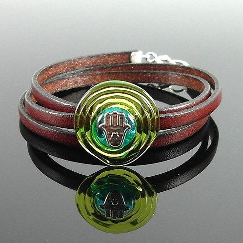 Triple Wrapped Bracelet