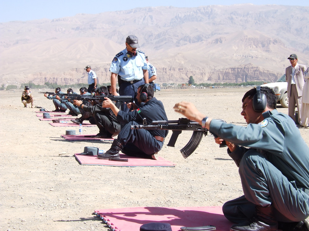 The New Zealand Police train their Afghan National Police counterparts in art of rifle shooting.