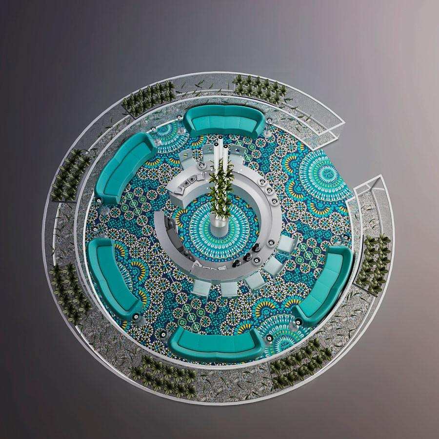 Diseño vista en planta