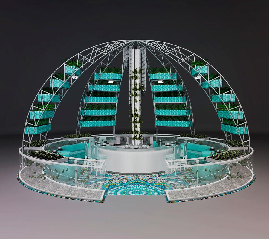 Diseño de Exterior sin Vidrio