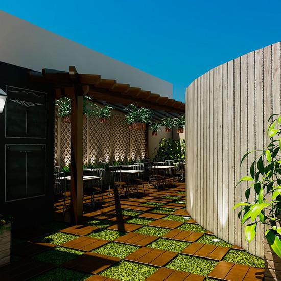 Diseño de Patio exterior