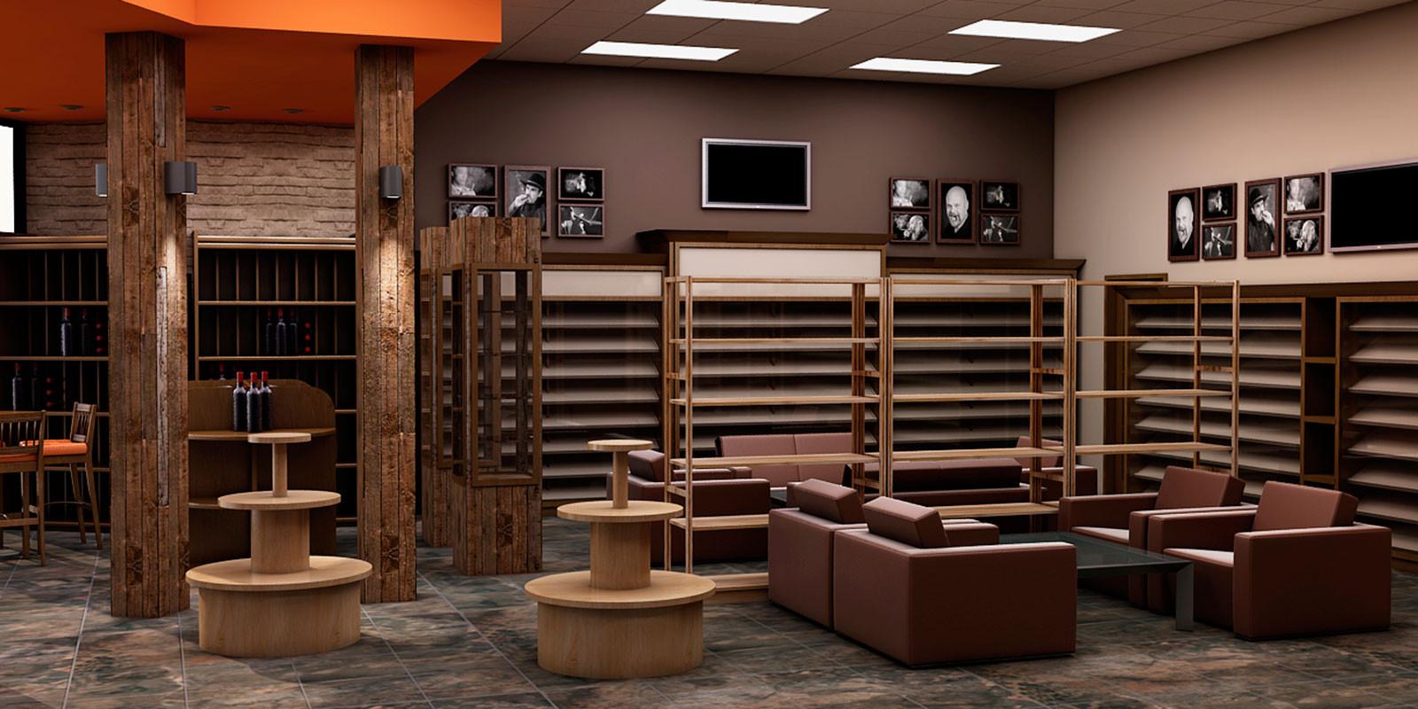 Diseño de area de Lounge