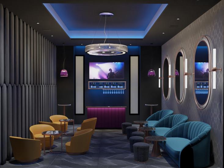 Diseño de Salon VIP