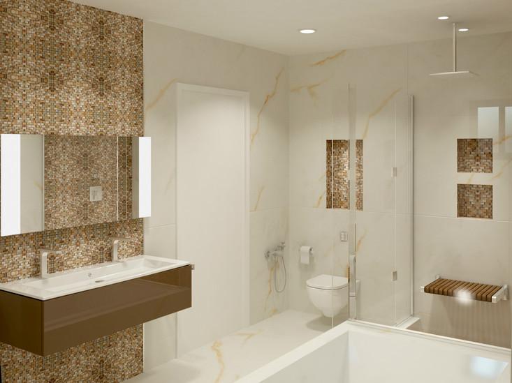 Diseño de Baño Principal
