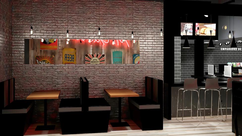 Diseño Interior de Pizzeria