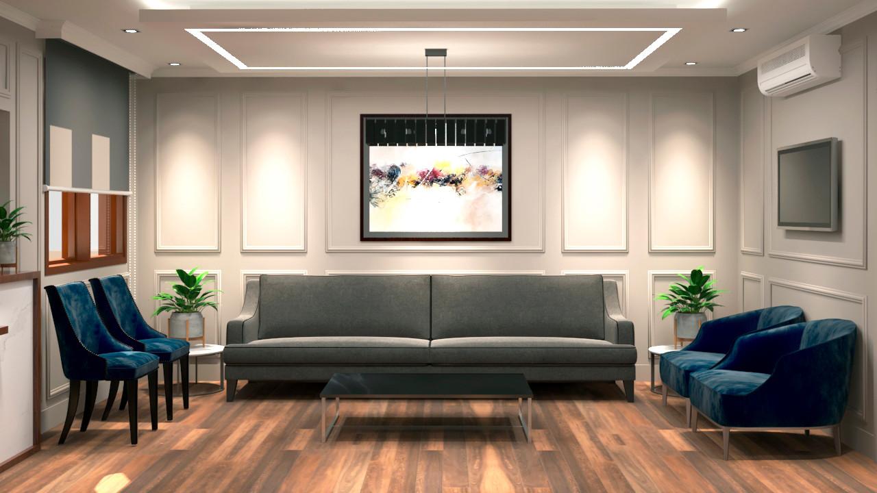 Diseño de Sala de Espera
