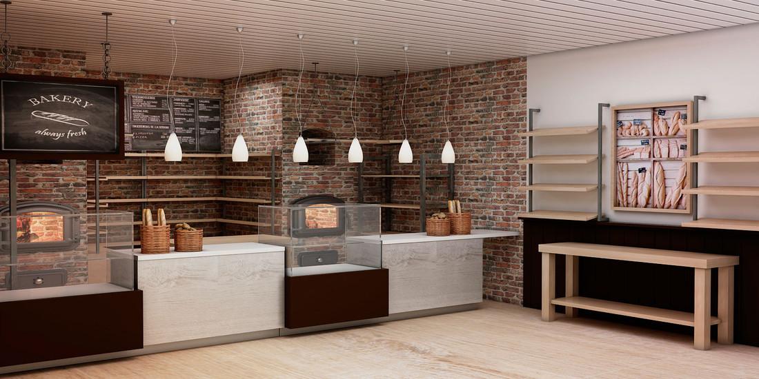 Diseño Interior de la Panaderia