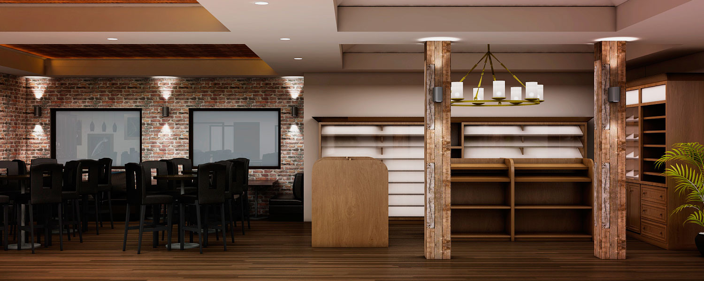 Diseño de Mobiliario para exhibicion y venta de Cigarros