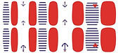 nautical nail stickers