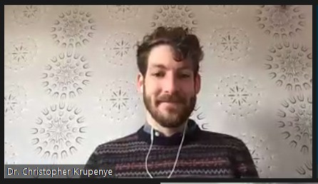 Dr. Christopher Krupenye, Assistant Professor, Johns Hopkins University
