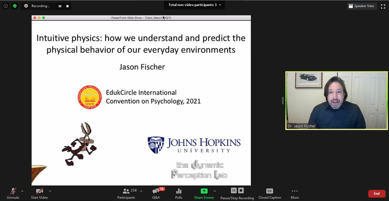 Dr. Jason Fischer, Assistant Professor, Johns Hopkins University