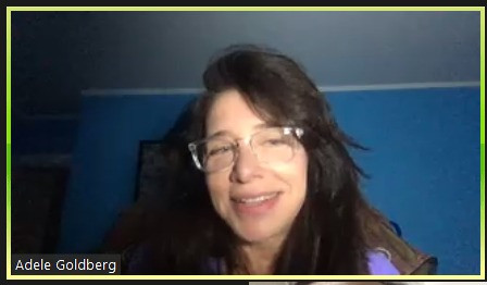 Dr. Adele Goldberg, Professor, Princeton University