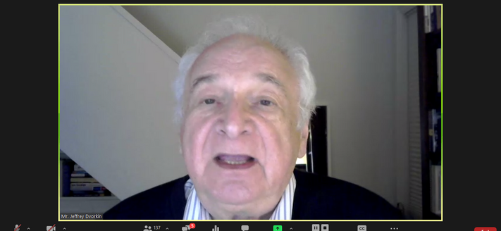 Mr. Jeffrey Dvorkin, Director of Journalism, University of Toronto