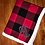 Thumbnail: Personalized Flannel Sherpa Lined Blanket.