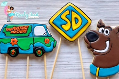 Scooby Doo Cookie Toppers